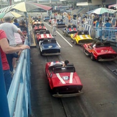 Photo taken at Tomorrowland® Speedway by Rebeca M. on 3/24/2012