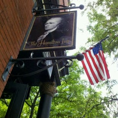 Photo taken at The Hamilton Inn by Barbara C. on 5/13/2012