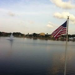 Photo taken at Lake Mirror by Anthony H. on 4/19/2012