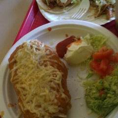 Photo taken at Pineda Tacos by ted l. on 2/17/2012