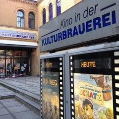 Photo taken at Kino in der Kulturbrauerei by Docjur on 7/21/2012