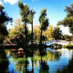 Photo taken at Лебединое озеро by Oksana I. on 8/19/2012
