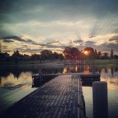Photo taken at Kiwanis Park by Adan H. on 7/17/2012