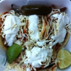 Photo taken at Guadalajara Taco Truck by SirPorkaLot on 2/15/2012