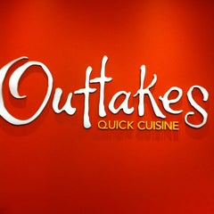 Photo taken at Outtakes Quick Cuisine by Tom C. on 5/29/2012