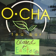 Photo taken at O-CHA Tea Bar by Phil Y. on 4/8/2012