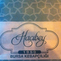 Photo taken at Hacıbey Bursa Kebapçısı by Melis D. on 4/15/2012