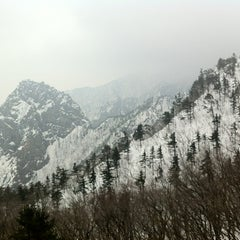 Photo taken at 설악케이블카 / Sorak Cable Car by 상근 이. on 3/17/2012