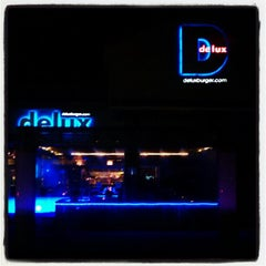 Photo taken at Delux Burger by Micah T. on 7/19/2012