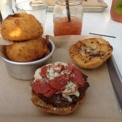Photo taken at Burger Jones by Noah S. on 7/22/2012