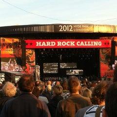 Foto tirada no(a) Hard Rock Calling por Emily H. em 7/15/2012