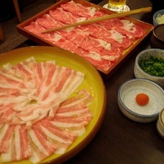 Photo taken at しゃぶ禅 by Ayako B. on 5/13/2012