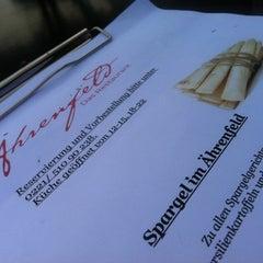 Photo taken at Ährenfeld - Das Restaurant by Lars W. on 4/28/2012