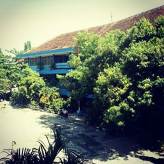 Photo taken at SMA Stella Duce 1 by Fernanda Victoria Gumilang S. on 6/13/2012