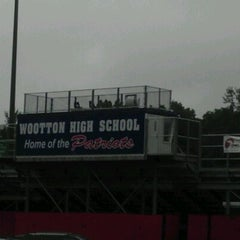 Photo taken at Thomas S. Wootton High School by HB C. on 7/21/2012