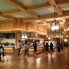 Photo taken at Borgata Buffet by John O. on 8/23/2012