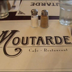Photo taken at Moutarde by Eliane v. on 8/9/2012