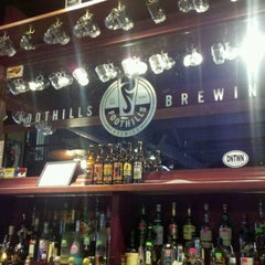 Photo taken at Foothills Brewing by Tim G. on 9/3/2012