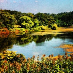 Photo taken at Tarrytown Lakes by Johanna W. on 9/4/2012