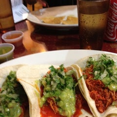 Photo taken at Villa Pancho Taqueria by Travis S. on 7/3/2012