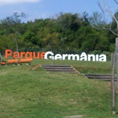 Photo taken at Parque Germânia by Patrick R. on 9/1/2012