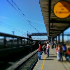 Photo taken at Estação Poá (CPTM) by Marcos P. on 8/3/2012