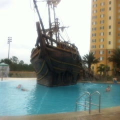 Photo taken at Lake Buena Vista Resort Village & Spa by Rita L. on 2/17/2012