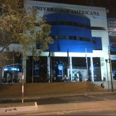 Photo taken at Universidad Americana by Noema R. on 8/13/2012