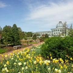 Photo taken at Lewis Ginter Botanical Garden by Josh C. on 4/8/2012