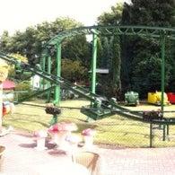 Photo taken at Amusementspark Tivoli by Bertil on 8/22/2012