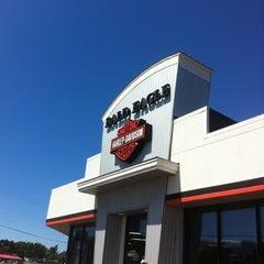 Photo taken at Bald Eagle Harley Davidson by Elizabeth B. on 7/28/2012
