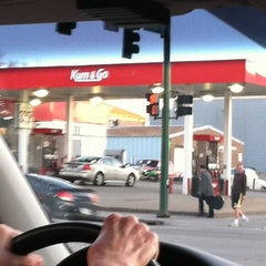 Photo taken at Kum & Go by Rebecca D. on 2/16/2012