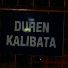Photo taken at Stasiun Duren Kalibata by Muhammad Syarifuddin F. on 8/1/2012