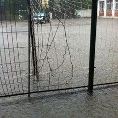 Photo taken at Curte interioară by Stephi S. on 5/25/2012