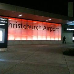 Photo taken at Christchurch International Airport (CHC) by Nik Khairunissa I. on 5/18/2012