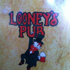 Photo taken at Looney's Pub by Gina M. on 8/18/2012