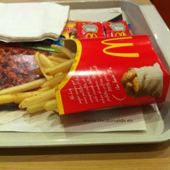 Photo taken at McDonald's Atalayas by Veronica P. on 6/4/2012