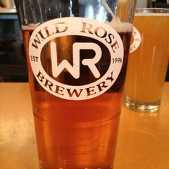 Photo taken at Wild Rose Brewery by Chris S. on 5/22/2012