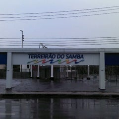 Photo taken at Terreirão do Samba by Bruno O. on 4/30/2012