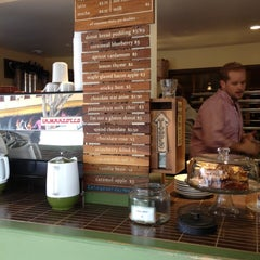 Photo taken at Dynamo Donut & Coffee by Clayton P. on 8/19/2012