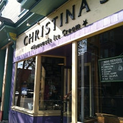 Photo taken at Christina's Homemade Ice Cream by Lisa N. on 4/21/2012