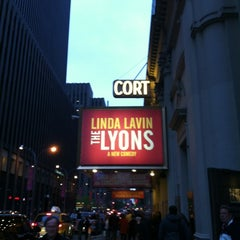 Photo taken at Cort Theatre by Tiffany L. on 4/28/2012