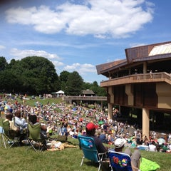 Photo taken at Wolf Trap National Park for the Performing Arts (Filene Center) by Aliesha on 6/16/2012