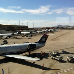 Photo taken at Terminal 4, Concourse B by Beth G. on 7/27/2012