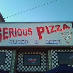 Photo taken at Serious Pizza by Zos on 5/31/2012
