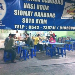 Photo taken at Bubur Ayam Bandung Kartika by Chelsea M. on 7/27/2012
