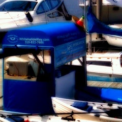 Photo taken at Whitehall Spirit Rowing Club Marina Del Rey by Brittney R. on 5/5/2012