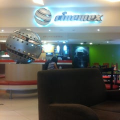 Photo taken at Cinemex by Reuven T. on 6/25/2012