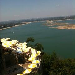 Photo taken at The Oasis on Lake Travis by Brandon S. on 5/18/2012