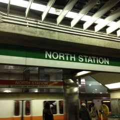 Photo taken at MBTA North Station by Eric A. on 5/1/2012